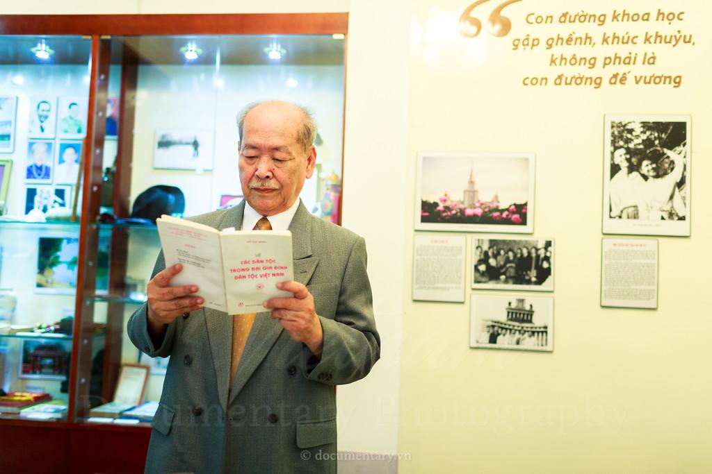 Phan Huu Dat, professor