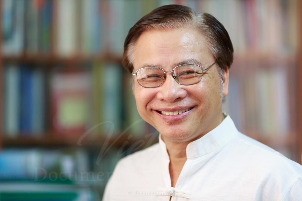 Trần Ngọc Thêm, professor