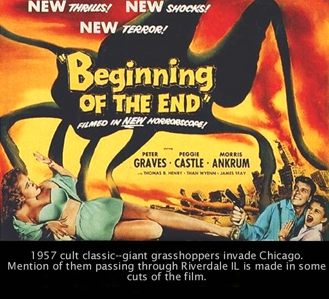 Beginning of the End - a movie so bad it's actually good!