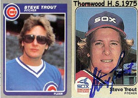 """Steve Trout - MLB - South Holland IL<br /> <br /> <a href=""""http://en.wikipedia.org/wiki/Steve_Trout"""">http://en.wikipedia.org/wiki/Steve_Trout</a>"""