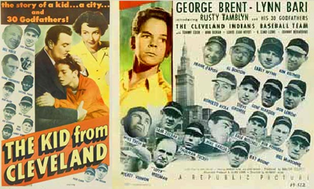 Lou Boudreau TTHS '35 - 1940's movie with Lou and his family appearing. Film was made just after the Indians won the World Series in 1948.  Lou was manager/player on that team.