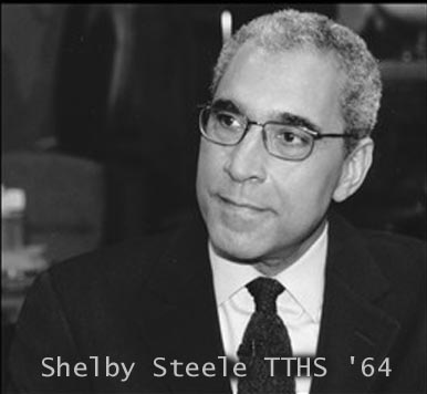 """Shelby Steele - American author, columnist, documentary film maker<br /> <br /> <a href=""""http://en.wikipedia.org/wiki/Shelby_Steele"""">http://en.wikipedia.org/wiki/Shelby_Steele</a>"""