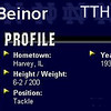 ED BEINOR - TTHS 1934 - All State - Notre Dame All American - NFL