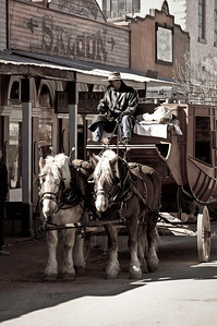 Stagecoach ready to go