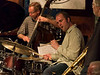 Nick Fraser on the drums with Neal Swainson on bass.