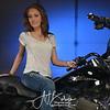 Ashlen Kelley Bike Pose