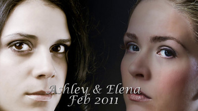 Elena & Ashley at Light and Sand Studios