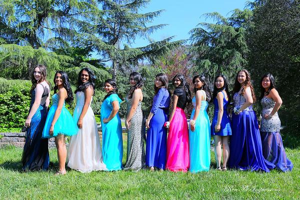 Ashley & Friends - Sr. Prom 2014