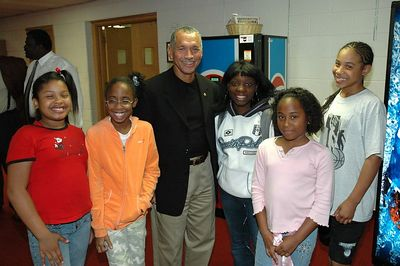 NASA  Astronaut Charles F. Bolden Jr. with family and friends.
