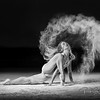 Powder accentuates the movements of the Ballet Dancer and thus creating some unique shots.  Photos taken at my friends Airplane Hanger with the Amazing  @poppyseed_dancer  Outfit by:  @trueandco.......................................................