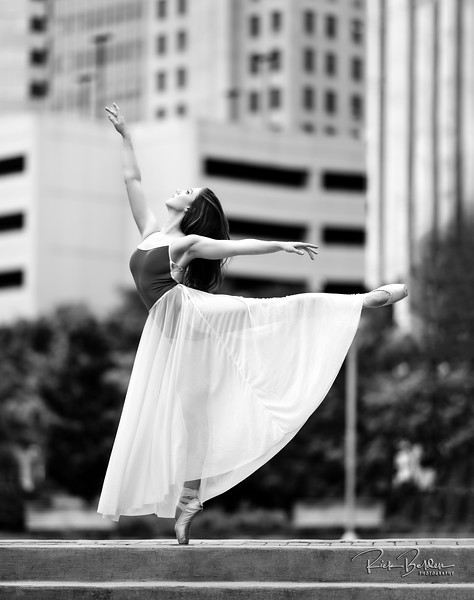 Strong is the new Beautiful!  Amazing Ballerina Tiffany in downtown Charlotte.    ............ Dancer:  @tiffmako  ........... Affiliation:  @UNCCDance and @CLTBallet ......... Outfit: @YumikoWorld  @Grishkoworld  ...............................................................................................