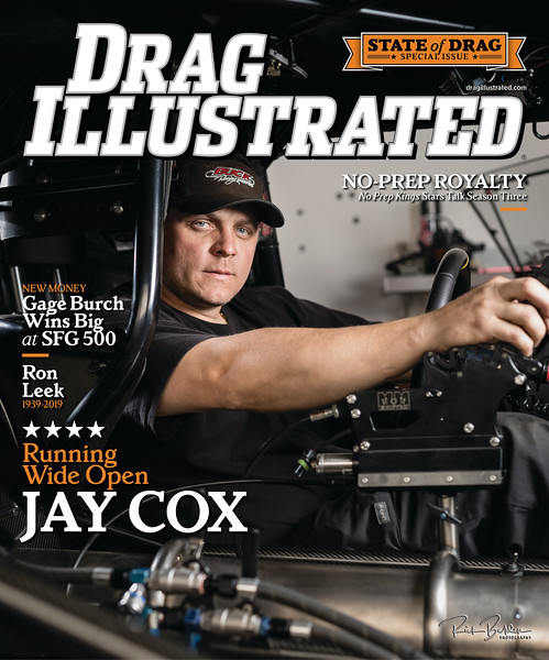 """Proud to have once again photographed the Cover of the best racing publication in the industry  - @Dragillustrated Magazine .  It's an honor to get to work with the best drivers in the world capturing these momements in time.  Please go to the DI website to see a digital preview of the latest """"State of Drag Racing"""" special issue featuring @pdraracing  Pro Nitrous Superstar @jaycox1030 ...................................................."""