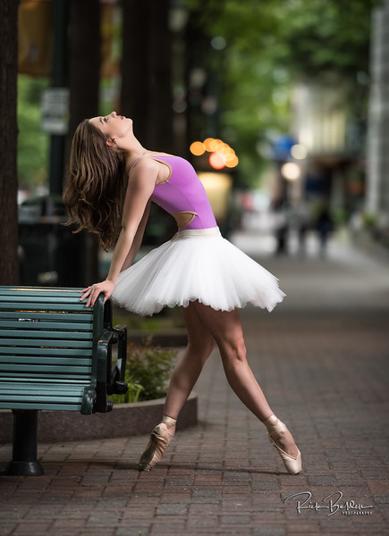 Had the pleasure of working with this Amazing Ballerina Tiffany again tonight in downtown Charlotte.    .............................................. Dancer:  @tiffmako  .........    .........  Association:  @UNCCDance and @CLTBallet ........................  Leotard: @YumikoWorld  Shoes: @Grishkoworld   Skirt: @Body.wrappers  ..................................................