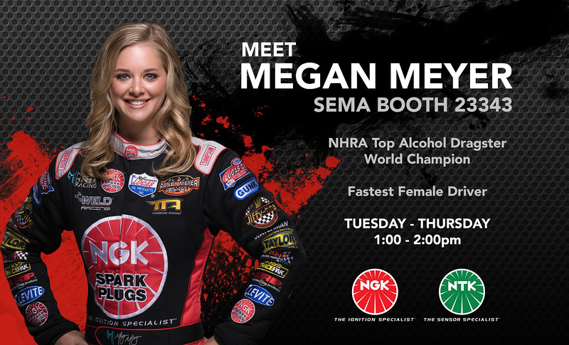 The goal of all Professional Photographers is to see your photos used in Print at some point in time.  I am fortunate to get to work with so many amazing athletes that I do get this honor more often than most other photogs...that said seeing my work appreciated never gets old!   If you are at SEMA this week stop by the @officialngksparkplugs booth and see my friend and NEW World Champion Top Alcohol Driver @Meganmeyer.racing  Photo taken in my studio:  @Rickbeldenphotography  ..............................