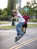 On recent Charlotte Downtown photo walk ran into some talented Skateboarders practicing on a side road.  Action shots frozen in time really show the complexity of the tricks. NOTE: Please feel free to Tag and Share if you know who the Skater is.   ............  All photos by: @RickBeldenPhotography ....................