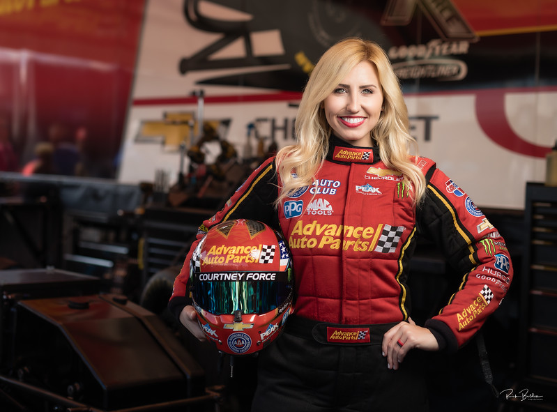 We had limited time, space and ability to bring in proper lighting gear but as you can see Courtney Force did a great job today at our photoshoot.  Not only a World Class Driver, but also as a person as she was truely great to work with.  Thank-you Courtney for giving us the opportunity to capture so many  shots for our publication......   @CourtneyForce @JFR_Racing  @Dragillustrated  @NHRA  @Advanceautoparts  ....   .........    .........