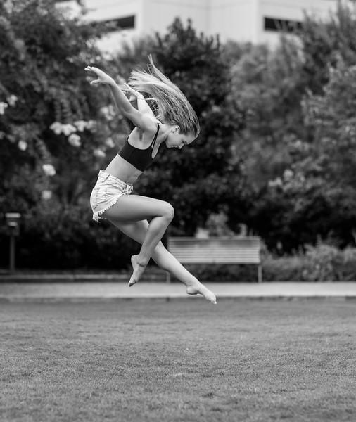 Sarah practicing her Super Hero landing!  .  Gymnast/Dancer/Model:  @sarahndorough    Clothing by:  @tlfapparel  ...................................................