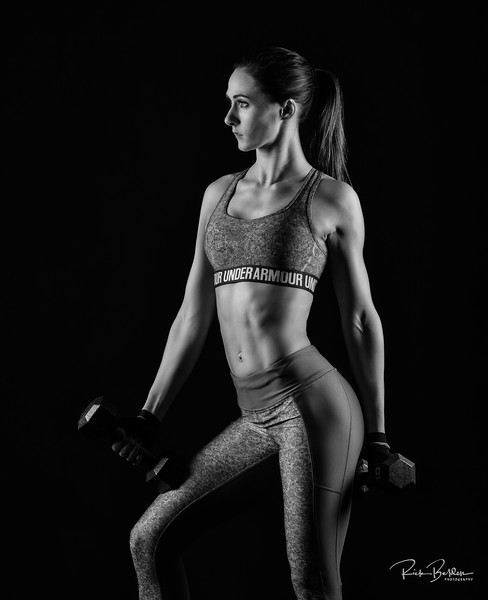 Created some strong fitness images earlier this year in my studio ...........................  Model:   @modeling_professional  Clothing by: @Underarmour @Underarmourwomen   .........................................................