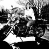 Audra with my Harley : Jan 19, 2013