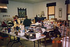 We held a Rummage Sale on October 8. Did you ever in all your born days see so much rummage?
