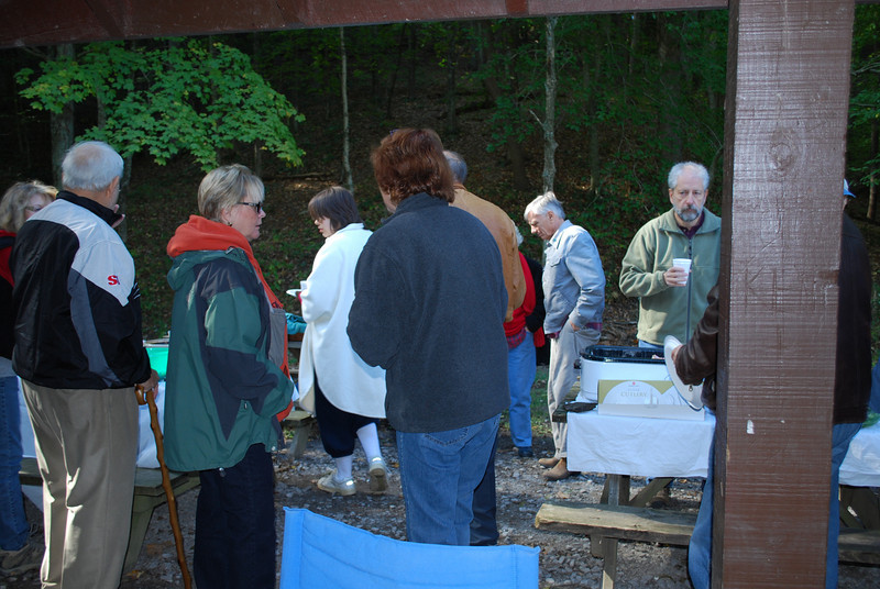 October picnic at Brown County State Park