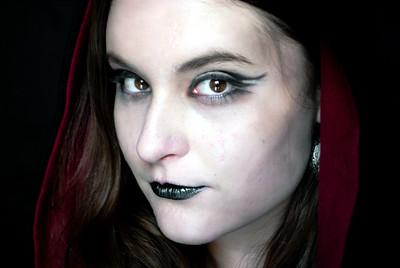 Dark Avant Garde photoshoot