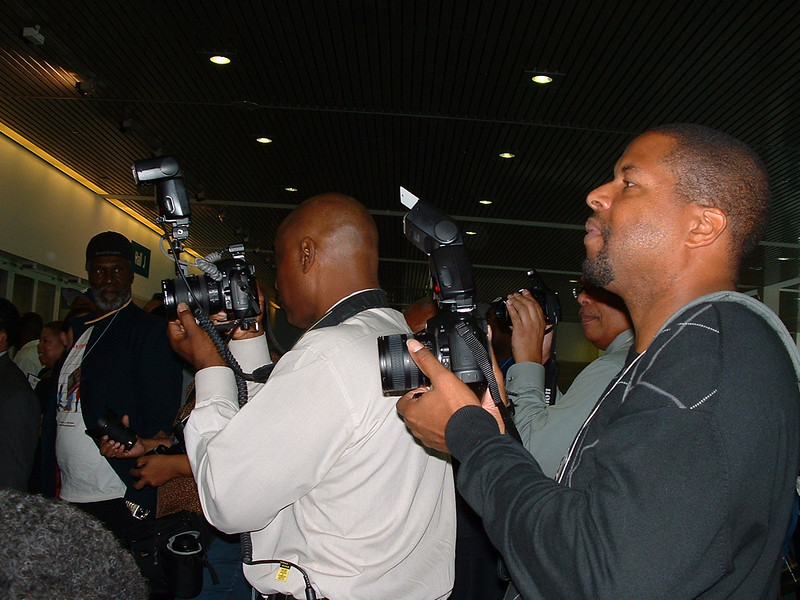 Paparazzi:  Mike Riddick and Stan Thomas, Expo Photographers.