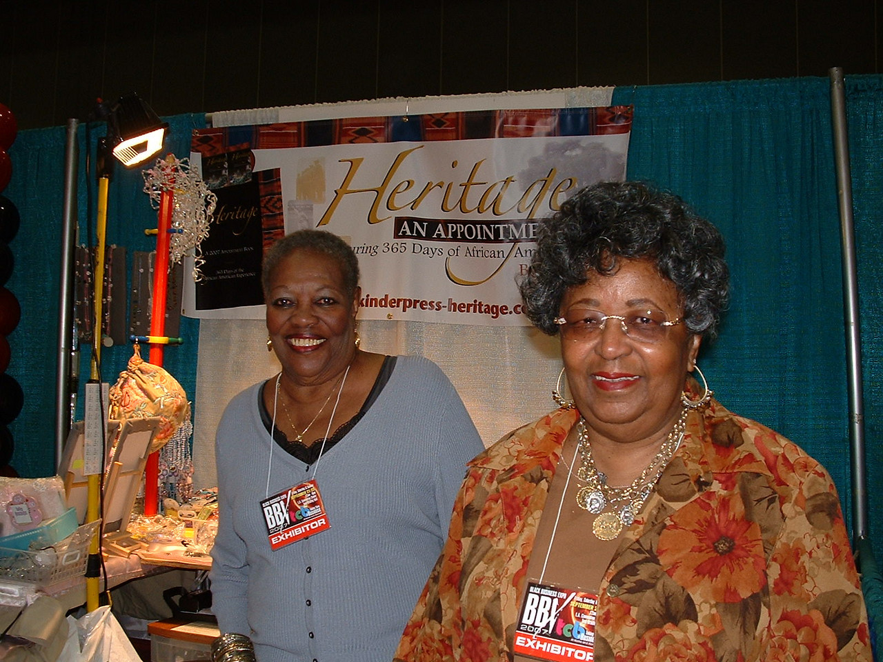 "Deloris Holt, right and her long time friend.<br />  <a href=""http://www.kinderpress-heritage.com"">http://www.kinderpress-heritage.com</a>"
