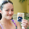 Mary Brady shows off a photo of her son Mario, who is now three. SENTINEL & ENTERPRISE / Ashley Green