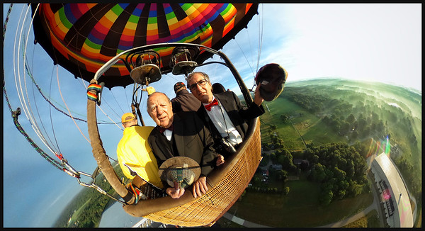 Ballooning with Irv 7-3-16