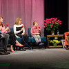 Barbara Foster's family joins her for the taping of her 40th anniversary show 'Barbara & You' on FATV on Tuesday evening. From left is Dima Strunkin, Sabina, 3, Jessica Strunkin, Leslie DeBord and Kirill, 9. SENTINEL & ENTERPRISE / Ashley Green