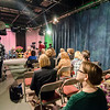 A live studio audience joins Barbara Foster for the taping of her 40th anniversary show 'Barbara & You' on FATV on Tuesday evening. SENTINEL & ENTERPRISE / Ashley Green
