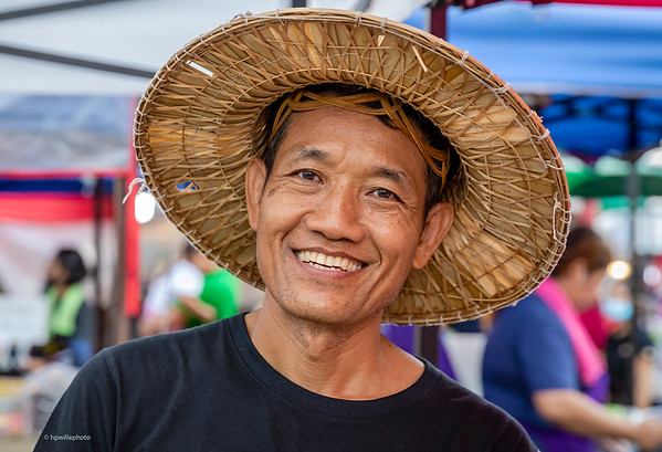 Farmer at the market