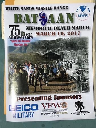 Bataan Memorial Death March - 3/19/17