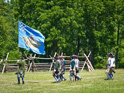 Monmouth Battle Scene 6