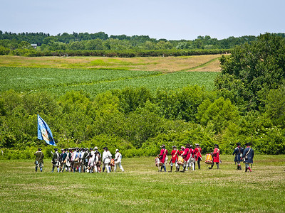 Monmouth Battle Scene 9