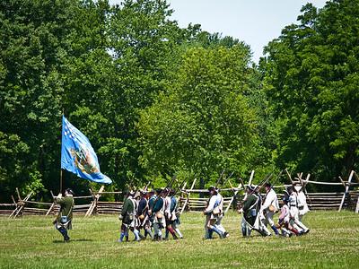 Monmouth Battle Scene 7