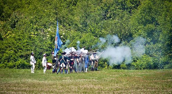 Monmouth Battle Scene 10
