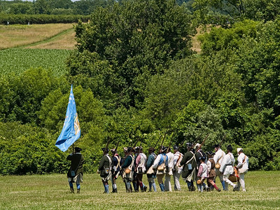 Monmouth Battle Scene 8