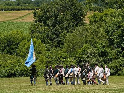 Monmouth Battle Scene 8