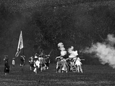Monmouth Battle Scene 13