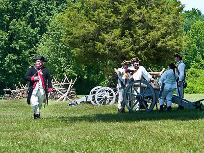 Monmouth Battle Scene 1