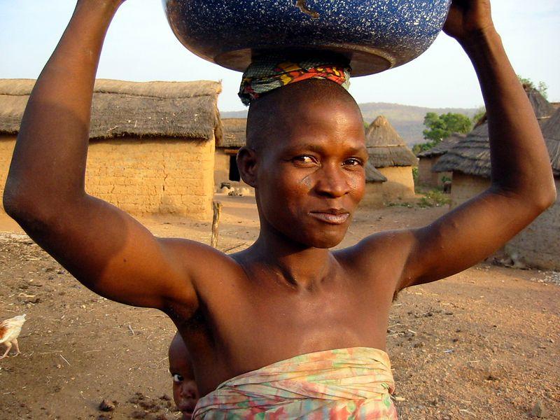 Benin, West Africa.
