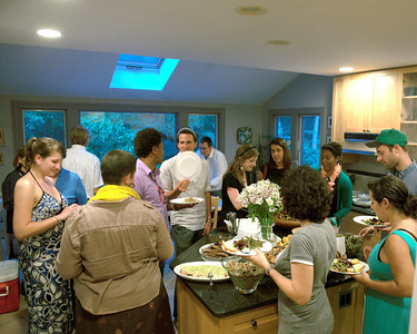 Becca Weinberg's Master's Party