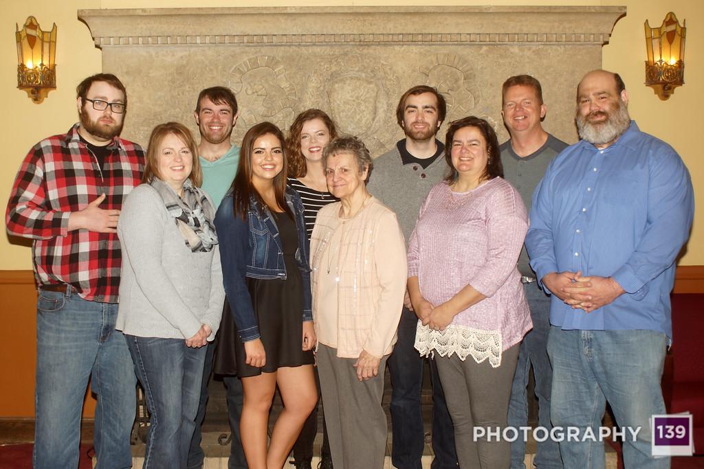 Bennett 2017 Family Photo