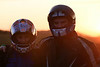 Melton Bikers at Sunset