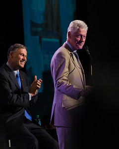 Image result for jay inslee and bill clinton
