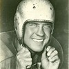 Close up of Bill Dudley in a helmet (02671)