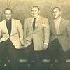 Bill Dudley, Jack Pendergrast, and Jack Sullivan at Jacko's Grill, 1952 (02678)
