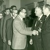 Bill Dudley at breakfast with President Gerald Ford (02650)